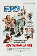 "Movie Posters:Comedy, How to Frame a Figg (Universal, 1971). One Sheet (27"" X 41"").Comedy.. ..."