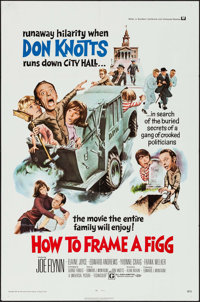 """How to Frame a Figg (Universal, 1971). One Sheet (27"""" X 41""""). Comedy"""