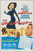 "Movie Posters:Comedy, The Girl Can't Help It (20th Century Fox, 1956). One Sheet (27"" X41""). Comedy.. ..."