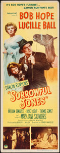 "Movie Posters:Comedy, Sorrowful Jones (Paramount, 1949). Insert (14"" X 36""). Comedy.. ..."