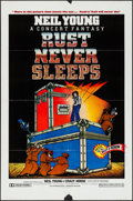 """Movie Posters:Rock and Roll, Rust Never Sleeps (A.M. Films, 1979). One Sheet (27"""" X 41""""). Rockand Roll.. ..."""