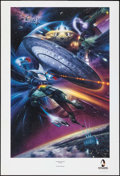 "Movie Posters:Science Fiction, Star Trek Poster Lot (Paramount, 1986/1997). Posters (3) (23"" X32,"" 24"" X 36,"" & 25"" X 37""). Science Fiction.. ... (Total: 3Items)"