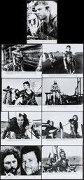 """Movie Posters:Science Fiction, The Road Warrior (Warner Brothers, 1982). Presskit (9"""" X 12"""") withPhotos (9) (8"""" X 10""""). Science Fiction.. ... (Total: 10 Items)"""