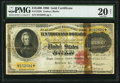 Large Size:Gold Certificates, Fr. 1225h $10,000 1900 Gold Certificate PMG Very Fine 20 Net.. ...