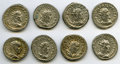 Ancients:Ancient Lots , Ancients: ROMAN EMPIRE: Philip I (AD 244-249). Lot of eight (8) ARantoniniani. About XF-AU.... (Total: 8 coins)