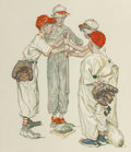Prints & Multiples, Norman Rockwell (American, 1894-1978). Sports Portfolio (four works), 1977. Lithograph in colors, each . 18-1/2 x 16... (Total: 4 Items)