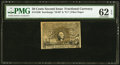 Fractional Currency:Second Issue, Fr. 1320 50¢ Second Issue PMG Uncirculated 62 EPQ.. ...