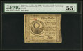 Colonial Notes:Continental Congress Issues, Continental Currency November 2, 1776 $30 PMG About Uncirculated 55 EPQ.. ...