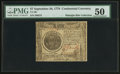 Colonial Notes:Continental Congress Issues, Continental Currency September 26, 1778 $7 PMG About Uncirculated50.. ...