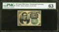 Fractional Currency:Fifth Issue, Fr. 1264 10¢ Fifth Issue PMG Choice Uncirculated 63.. ...