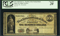 Obsoletes By State:Idaho, Idaho City, Idaho Territory- B.M. DuRell & Co. $100 186_. ...