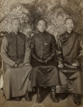 Asian:Chinese, A Gelatin Silver Print of His Imperial Highness Prince Tsai Tao andParty with Related Ephemera, circa 1910. 8-7/8 x 7 inche... (Total:2 Items)