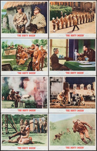 "The Dirty Dozen (MGM, 1967). Lobby Card Set of 8 (11"" X 14""). War. ... (Total: 8 Items)"