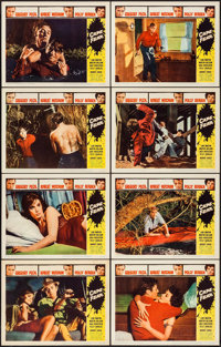 "Cape Fear (Universal International, 1962). Lobby Card Set of 8 (11"" X 14""). Thriller. ... (Total: 8 Items)"