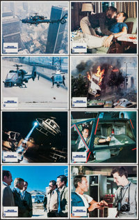 "Blue Thunder (Columbia, 1983). Lobby Card Set of 8 (11"" X 14""). Action. ... (Total: 8 Items)"