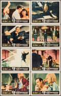 "Movie Posters:James Bond, Goldfinger (United Artists, 1964). Lobby Card Set of 8 (11"" X 14"").James Bond.. ... (Total: 8 Items)"