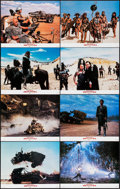 "Movie Posters:Science Fiction, Mad Max Beyond Thunderdome (Warner Brothers, 1985). British LobbyCard Set of 8 (11"" X 14""). Science Fiction.. ... (Total: 8 Items)"