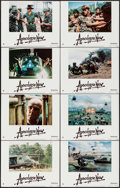 "Movie Posters:War, Apocalypse Now (United Artists, 1979). Lobby Card Set of 8 (11"" X14""). War.. ... (Total: 8 Items)"