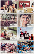 "Movie Posters:Comedy, The Longest Yard (Paramount, 1974). Lobby Card Set of 8 (11"" X14""). Comedy.. ... (Total: 8 Items)"