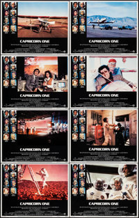 """Capricorn One (Warner Brothers, 1978). Lobby Card Set of 8 (11"""" X 14""""). Thriller. ... (Total: 8 Items)"""