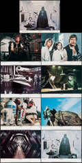 """Movie Posters:Science Fiction, Star Wars (20th Century Fox, 1977). Lobby Card Set of 8 & Lobby Card (11"""" X 14""""). Science Fiction.. ... (Total: 9 Items)"""