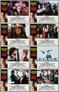 "Nighthawks (Universal, 1981). Lobby Card Set of 8 (11"" X 14""). Action. ... (Total: 8 Items)"
