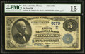 National Bank Notes:Texas, San Antonio, TX - $5 1882 Value Back Fr. 574 The Frost NB Ch. # (S)5179. ...