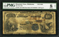 National Bank Notes:Oklahoma, Mountain View, OK - $10 1882 Date Back Fr. 546 The First NB Ch. # (W)5656. ...