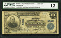 National Bank Notes:Pennsylvania, Forest City, PA - $10 1902 Plain Back Fr. 633 The First NB Ch. #5518. ...