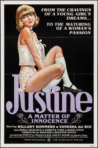 """Justine: A Matter of Innocence & Others Lot (Sendy, 1980). One Sheets (3) (27"""" X 41"""", 27"""" X 39.5&..."""