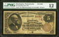National Bank Notes:Pennsylvania, Huntingdon, PA - $5 1882 Brown Back Fr. 477 The Standing Stone NB Ch. # (E)6090. ...