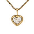 Estate Jewelry:Pendants and Lockets, Diamond, Gold Pendant-Necklace, Chopard . ...