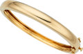Estate Jewelry:Bracelets, Gold Bracelet, Van Cleef & Arpels The 18k gold...