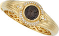 Estate Jewelry:Bracelets, Diamond, Ancient Coin, Gold Bracelet . ...