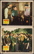 "Movie Posters:Western, Belle Starr (20th Century Fox, 1941). Lobby Cards (2) (11"" X 14""). Western.. ... (Total: 2 Items)"