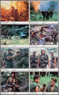 "Movie Posters:Academy Award Winners, Platoon (Orion, 1986). Mini Lobby Card Set of 8 (8"" X 10""). AcademyAward Winners.. ... (Total: 8 Items)"