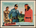"Movie Posters:Western, The Lone Ranger and the Lost City of Gold (United Artists, 1958).Lobby Card (11"" X 14""). Western.. ..."