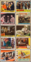 "Movie Posters:Western, Renegades of the West & Others Lot (RKO, 1932). Lobby Cards(24) (11"" X 14""). Western.. ... (Total: 24 Items)"