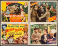 "Movie Posters:Comedy, Million Dollar Kid & Others Lot (Monogram, 1944). Title LobbyCards (2) & Lobby Cards (2) (11"" X 14""). Comedy.. ... (Total: 4Items)"
