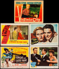 "Movie Posters:Musical, Tonight and Every Night & Others Lot(Columbia, 1945). TitleLobby Card, Lobby Cards (3) & Lobby Card Linen Finish (11"" X14""... (Total: 5 Items)"