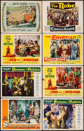 "Movie Posters:Adventure, Samson and Delilah & Others Lot (Paramount, 1949). Lobby Cards(8) (11"" X 14""). Adventure.. ... (Total: 8 Items)"
