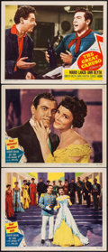 "Movie Posters:Musical, That Midnight Kiss & Other Lot (MGM, 1949). Lobby Cards (3)(11"" X 14""). Musical.. ... (Total: 3 Items)"