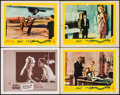 "Movie Posters:Foreign, Please, Not Now! & Other Lot (20th Century Fox, 1963). SpanishLanguage Lobby Card & Lobby Cards (3) (11"" X 14""). Foreign..... (Total: 4 Items)"