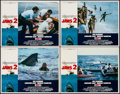 """Movie Posters:Horror, Jaws 2 (Universal, 1978). Lobby Card Set of 4 (11"""" X 14""""). Horror..... (Total: 4 Items)"""