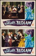 "Movie Posters:Horror, Bedlam (RKO, 1946). Lobby Cards (2) (11"" X 14""). Horror.. ...(Total: 2 Posters)"