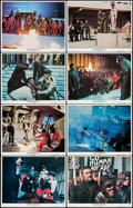 "Movie Posters:Science Fiction, Conquest of the Planet of the Apes (20th Century Fox, 1972). LobbyCard Set of 8 (11"" X 14""). Science Fiction.. ... (Total: 8 Items)"