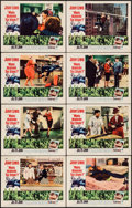 "Movie Posters:Comedy, Who's Minding the Store? (Paramount, 1963). Lobby Card Set of 8(11"" X 14""). Comedy.. ... (Total: 8 Items)"