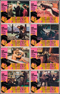 "Movie Posters:Crime, Coogan's Bluff (Universal, 1968). Lobby Card Set of 8 (11"" X 14"").Crime.. ... (Total: 8 Items)"