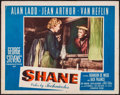"Movie Posters:Western, Shane (Paramount, 1953). Lobby Card (11"" X 14""). Western.. ..."