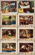 """Movie Posters:Western, Carson City & Others Lot (Warner Brothers, 1952). Lobby Cards(31) (11"""" X 14""""). Western.. ... (Total: 31 Items)"""